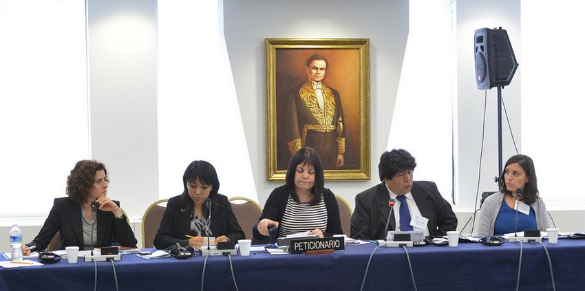Rocío Silva Santisteban advierte en la CIDH: «Se está privatizando la Policía Nacional del Perú»