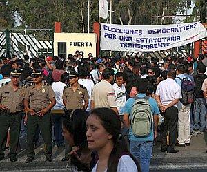 CNDDHH manifiesta su preocupación por intervención arbitraria de la PNP en UNMSM y la detención de estudiantes